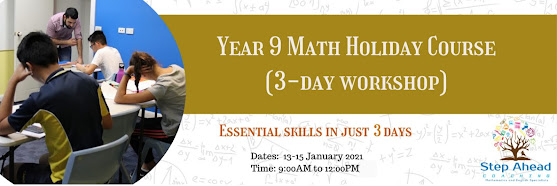 Year 9 Math Holiday Course (3-day workshop)
