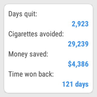QuitNow! PRO - Stop smoking Screenshot 4