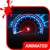 Speedometer Animated Keyboard