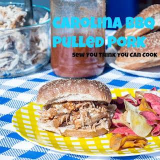 Carolina BBQ Pulled Pork.