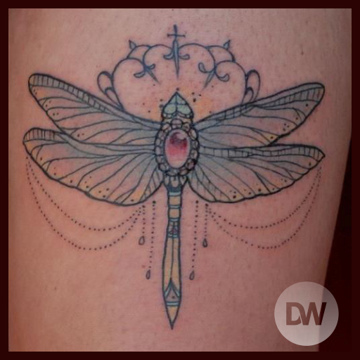Dragonfly Tattoo Ideas 遊戲 App LOGO-硬是要APP
