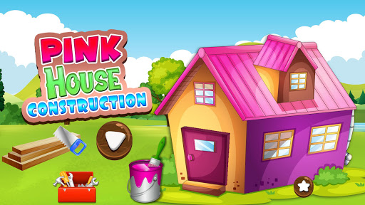 Pink House Construction: Home Builder Games 1.2 screenshots 1