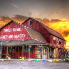 Country Market by Frank Kruller - Buildings & Architecture Other Exteriors ( farm, market, barn )