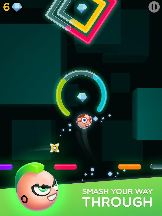 Smashies: Balls on tap, hop to the top!- screenshot