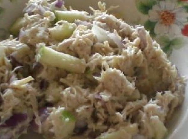 boil chicken or can also bake your chicken and shred it, dice onions and...