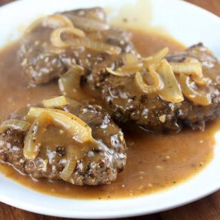 Hamburger Steak with Gravy.