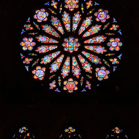Stained Glass Windows by Terri Schaffer - Buildings & Architecture Places of Worship