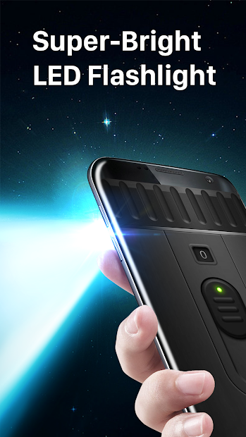 Super-Bright LED Flashlight Android App Screenshot