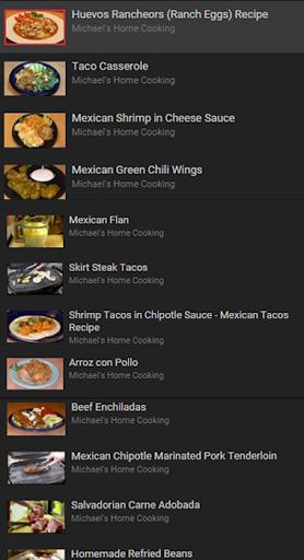 American Recipes