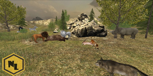 Wild Lion Simulator 2016