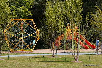 Photo: New playground at Bomoseen State Park by Mike Conley