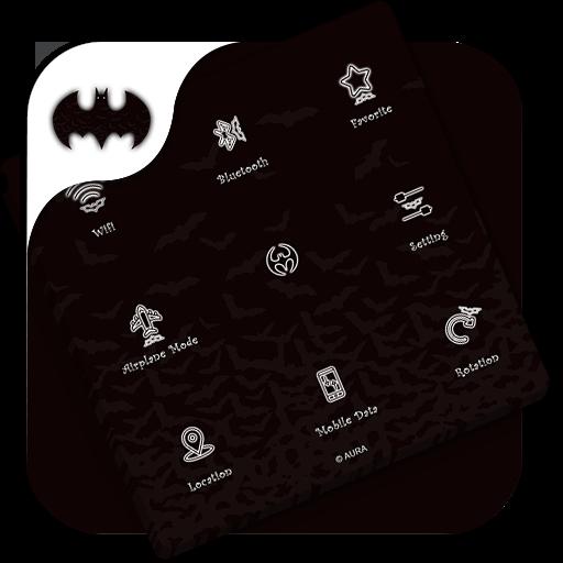 Assistive Touch Batman Theme