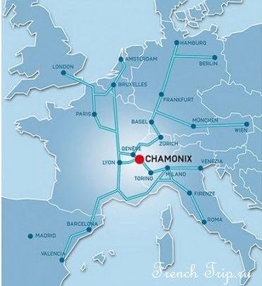 На поезде в Шамони-Монблан (Chamonix-Mont Blanc): как добраться в Шамони, расписание поездов в Шамони, стоимость билетов на поезд в Шамони