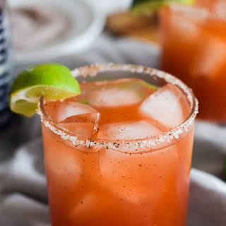 Mexican Michelada (Beer Cocktail).