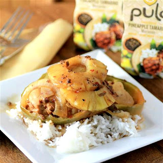 Easy BBQ Pineapple Pulo Chicken.