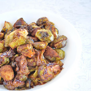 Tomato Roasted Brussels Sprouts.
