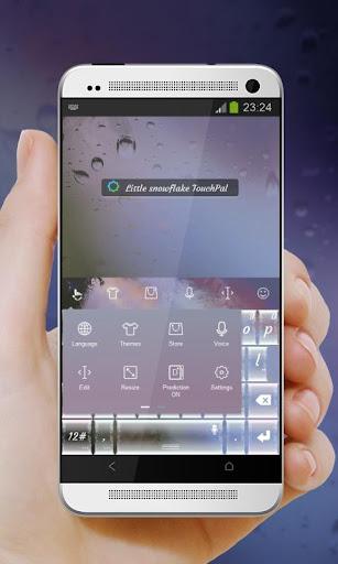 玩免費個人化APP|下載小雪花 TouchPal 皮肤Pífū app不用錢|硬是要APP