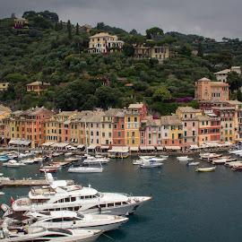 Portofino by Andrew Moore - City,  Street & Park  Vistas