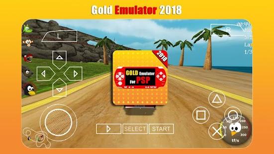 Gold Emulator for PSP 2018 - náhled