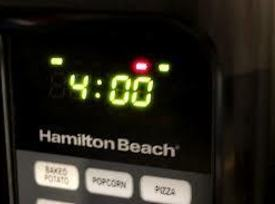 Microwave for 4 minutes. (Increase time if doing more than one ear.)