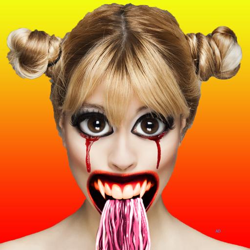 Halloween Zombie Photo Booth Icon