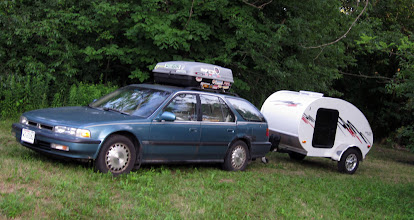 Photo: Marge, topper and the Little Guy. Ready for action! (more like - ready for parking and camping?)