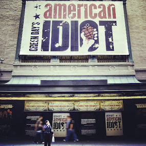 American idiot by Al Mansur - Instagram & Mobile Instagram ( photowall, statigram, instagram, greenday, manhattan, instamood, ny, newyork, all_shots, instadaily, instabest, instaphoto, instafashion, webstagram, photostreet )