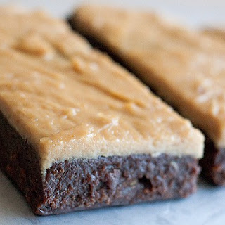 Candice's Low Carb Chocolate & Peanut Butter Protein Bars.