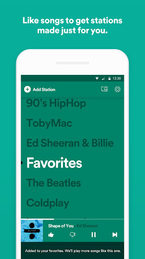 Spotify Stations screenshot 3