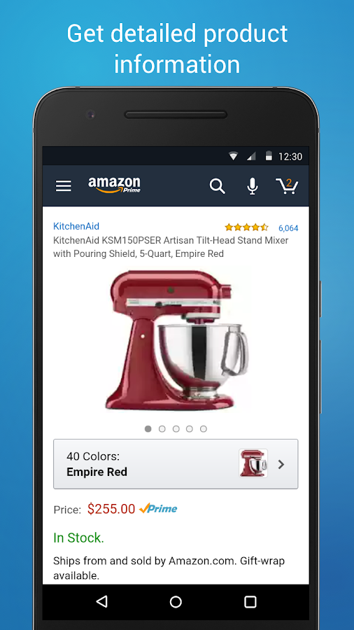 Amazon Shopping- screenshot