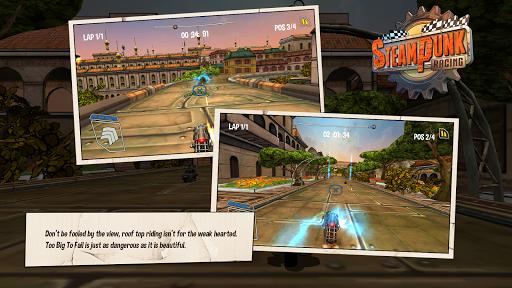 Steampunk Racing