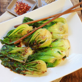 Baby Bok Choy with Ginger & Garlic