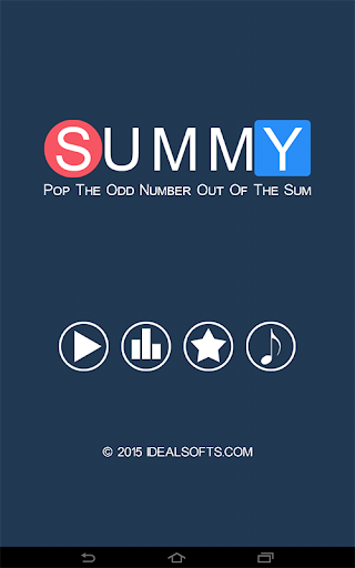 Summy - Odd One Out