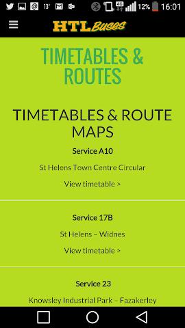 android Huyton Travel Screenshot 2