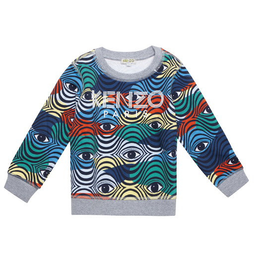 Primary image of Kenzo Kids Eye Logo Sweatshirt