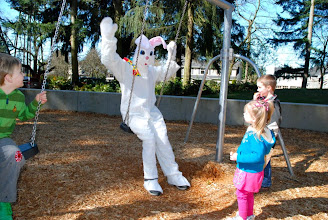 Photo: 2012 egg hunt and park playground and spray - 56