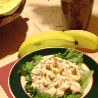 Banana Nut Salad.