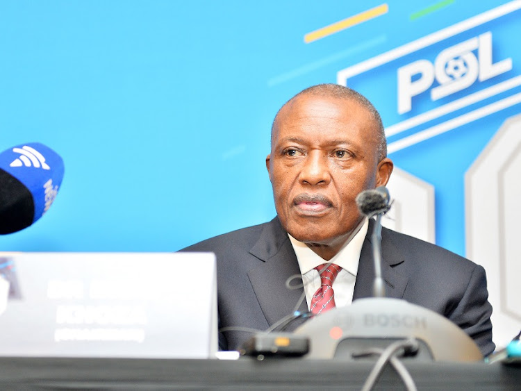 Chairperson Dr Irvin Khoza during the 2016 NSL Executive Election in Montecasino on 15 November 2016.