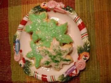 Nana's Anise Cutout Cookies