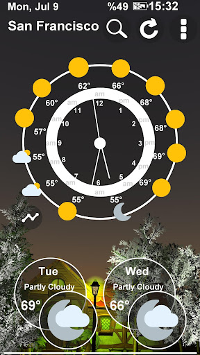Animated 3D Weather 4.2.0 screenshots 5
