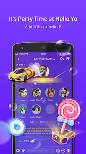 App Hello Yo – Free Voice Chat Rooms APK for Windows Phone