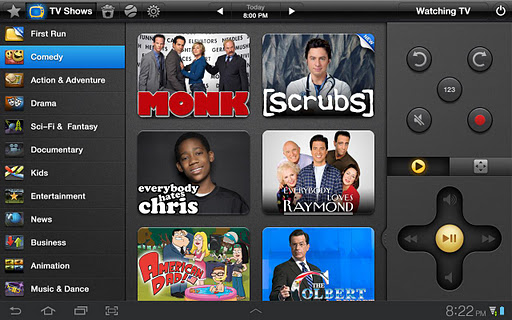Peel Smart Remote (Galaxy Tab) screenshot 4