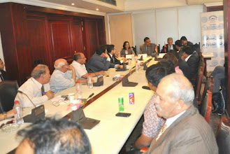 Photo: FNCCI Delegation in a meeting with Egyptian Businessmen at FECC
