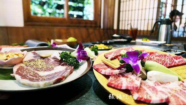 |台中| 瓦庫燒肉 | 紅磚 瓦片 綠意 木造老宅大加分,食材普通居多