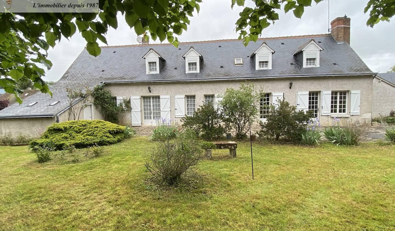 Maison avec terrasse Herbault