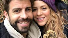 Piqué y Shakira se hacen una foto con una trufa.