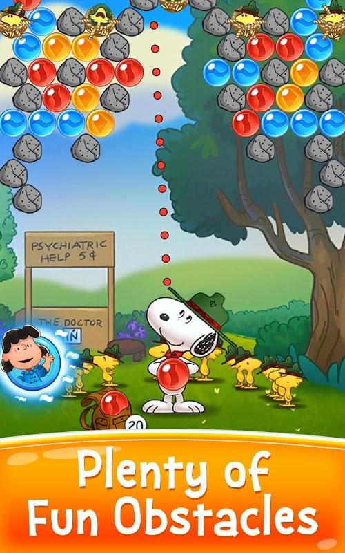 Screenshot 2 Snoopy Pop - Free Match, Blast & Pop Bubble Game 1.29.602 APK MOD