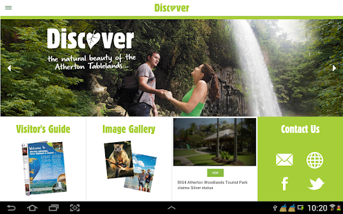 Discover - Atherton Tablelands- screenshot thumbnail