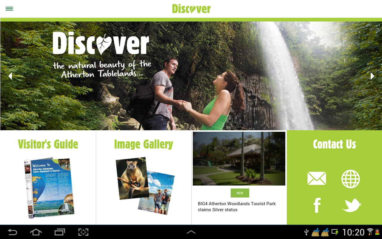 Discover - Atherton Tablelands- screenshot