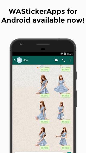 KPOP Stickers WAStickerApps 1.1.0.0 screenshots 4